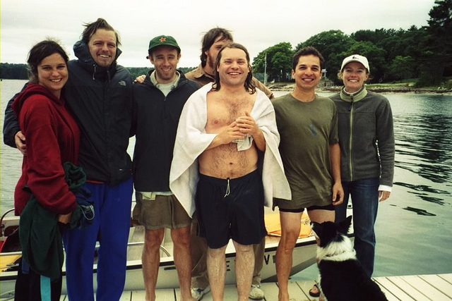swimmers and crew 2005